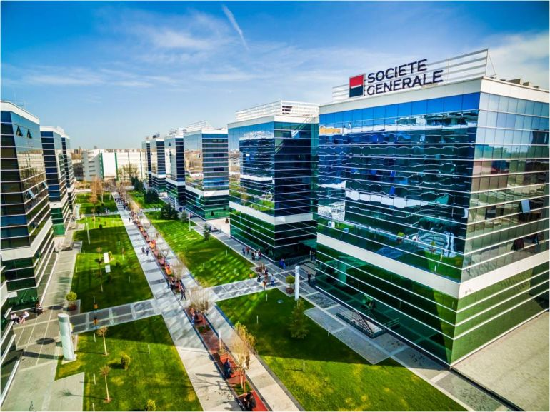 SocGen's EBS division to grow 60%, expands its West Gate offices in Bucharest