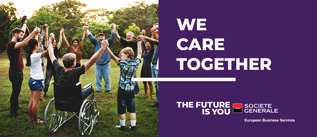 We Care Together – funding program