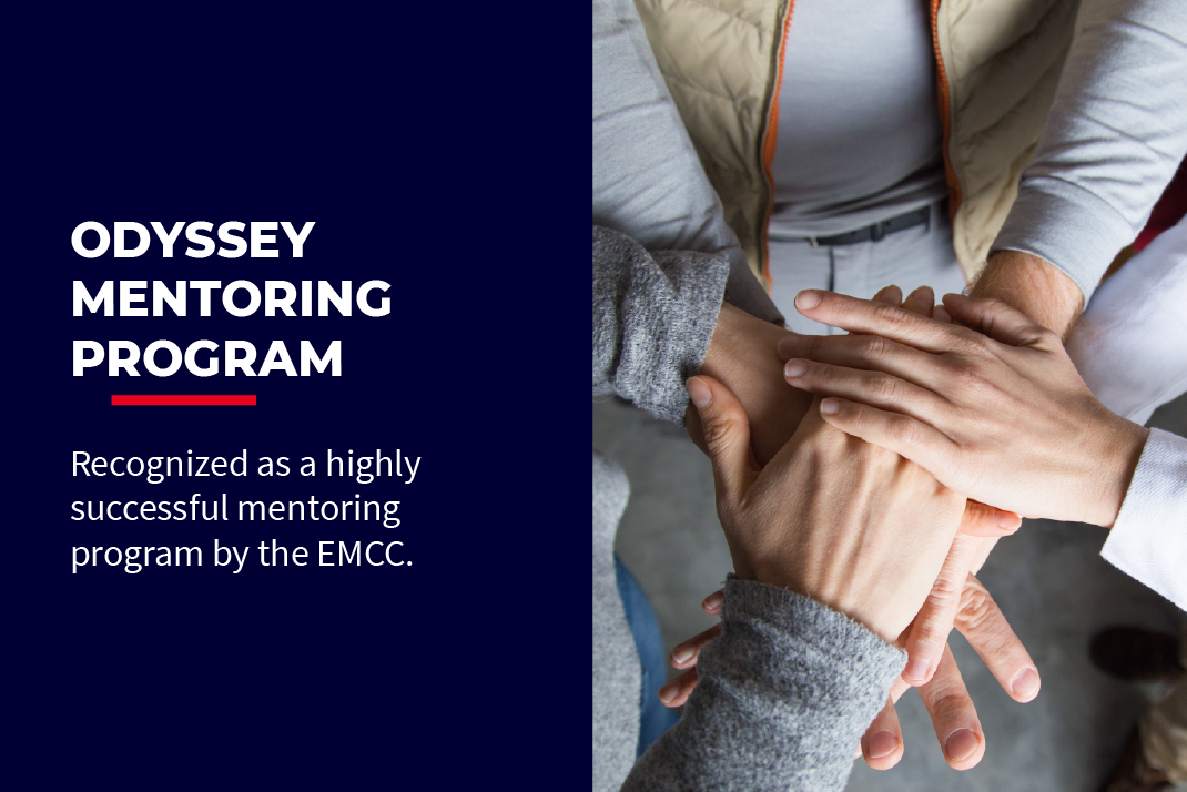 Odyssey Mentoring Program recognized as a highly successful mentoring program by the European Mentoring and Coaching Council