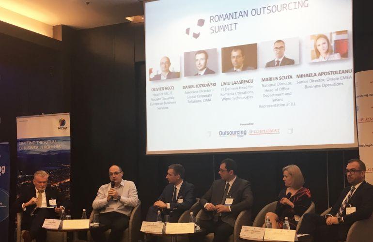 SG EBS a fost prezenta la cea de-a treia editie a Romanian Outsourcing Summit
