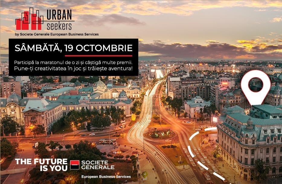 """""""Urban Seekers"""" – noua campanie de brand de angajator lansată de  Societe General European Business Services vine cu o provocare inedită"""