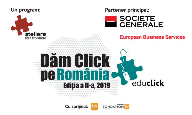 Laureatii programului EduClick – Dam Click pe Romania 2019, editia a II-a
